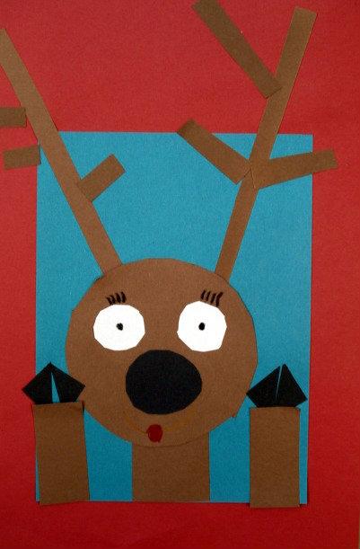 Kindergarten Christmas Craft Projects